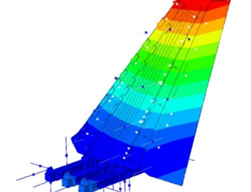 Simulation of Vertical Tail Plane structural tests